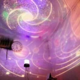 LAMPU TIDUR PROYEKTOR UNIK YANG MENGELUARKAN GAMBAR KUMPULAN PLANET DAN BINTANG, STAR MASTER PLANET 2