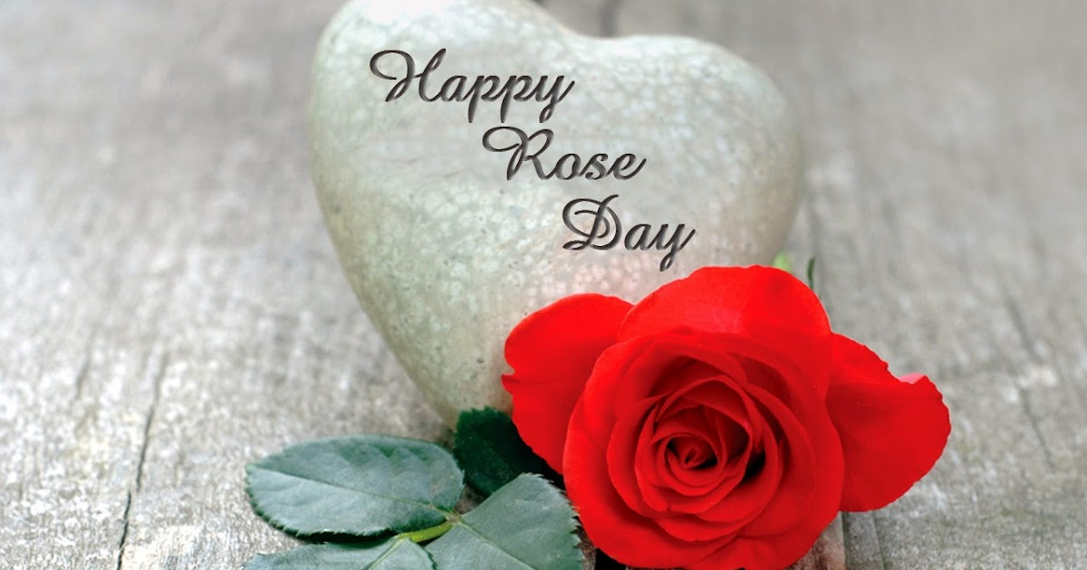 Valentines Day Week - 1st Day Happy Rose Day Quotes