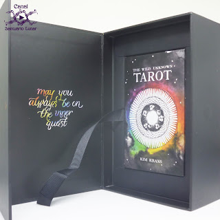 The Wild Unknown Tarot - Box (Open without the book)