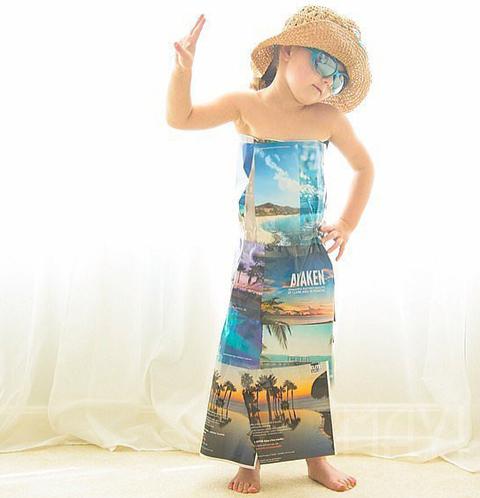 model baju pantai anak 2016