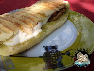 Panini méditerranéen poulet pesto (gagnante du 2nd prix)