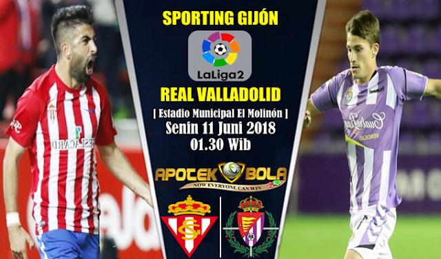 Prediksi Sporting Gijon vs Real Valladolid 11 Juni 2018