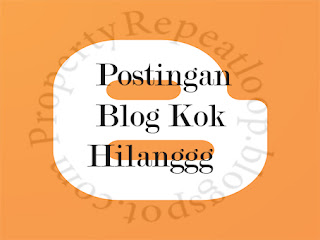 Oke balik lagi bersama author kita yaitu saya Gilang Aditya Postingan Blog Hilang di Homepage? Tenang Berikut penyebab dan cara mengembalikannya