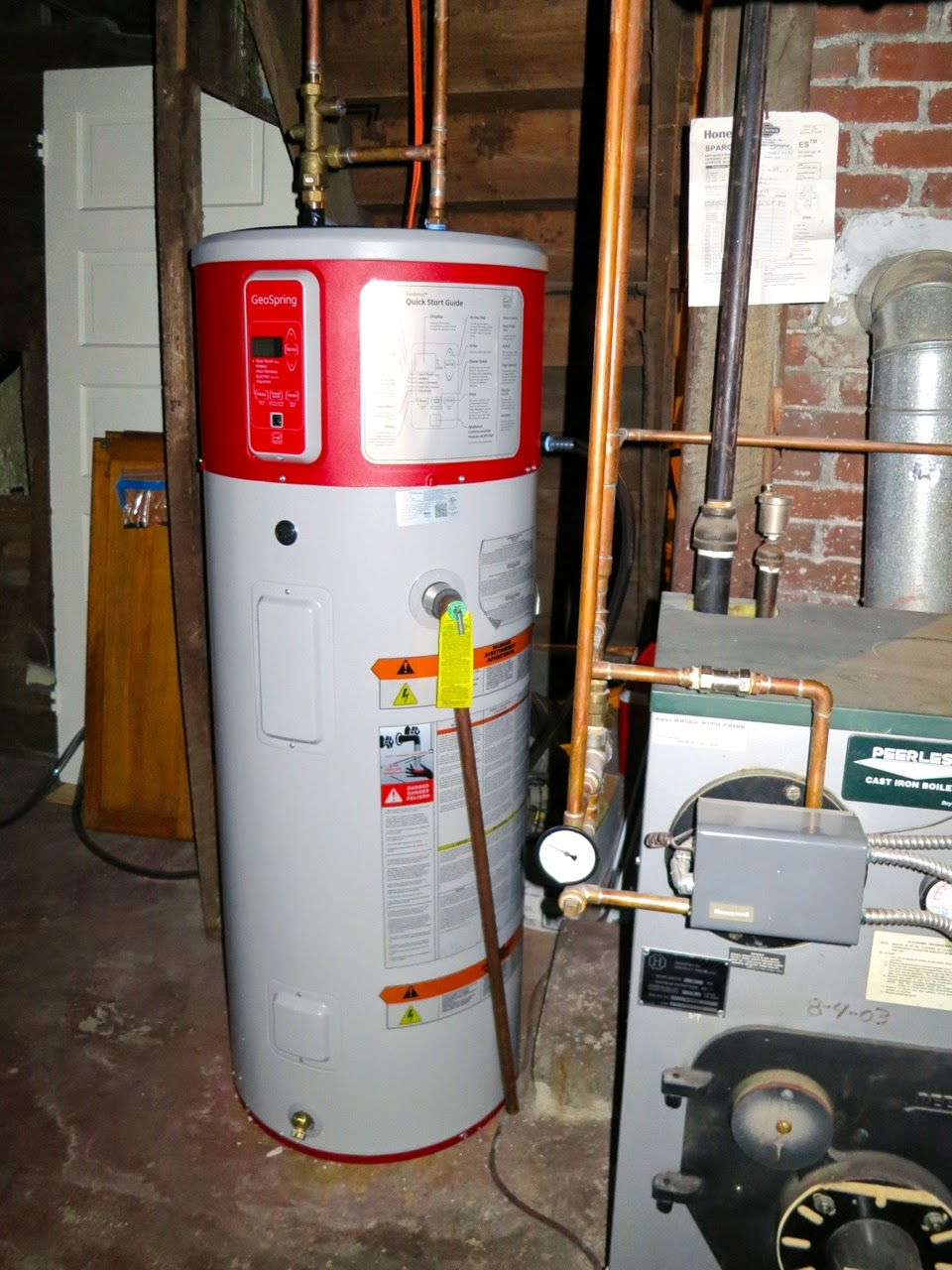 Review Ge Geospring Hybrid Hot Water Heater