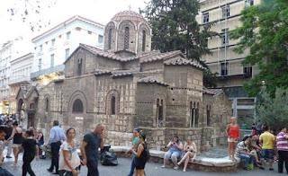 Iglesia de Panaghia Kapnikarea.