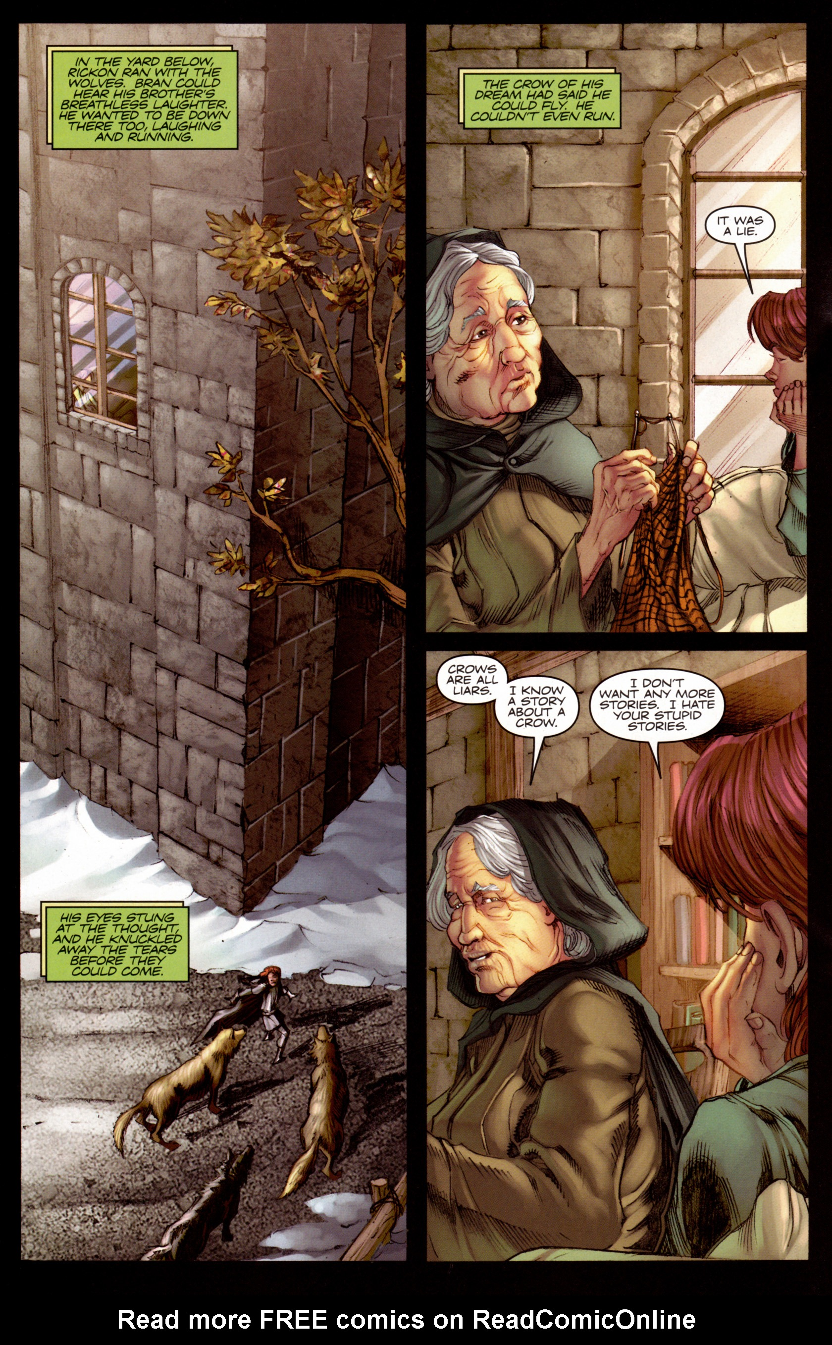 Read online A Game Of Thrones comic -  Issue #7 - 21