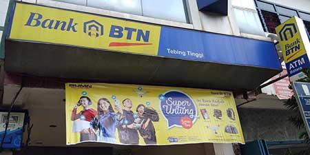 Alamat & Nomor Telepon Bank BTN Cabang Tebing Tinggi