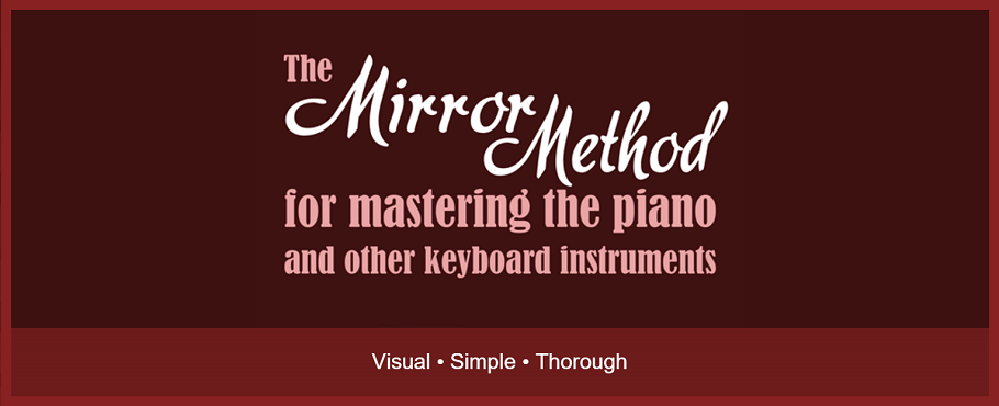 The Mirror Method for mastering the piano and other keyboard instruments