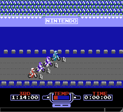 【FC】越野摩托車(火車機車賽、Excitebike)+金手指,超懷念的機車賽車遊戲!