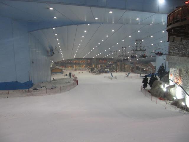 pistas esqui  indoor, dubai ski, esquiar en dubai