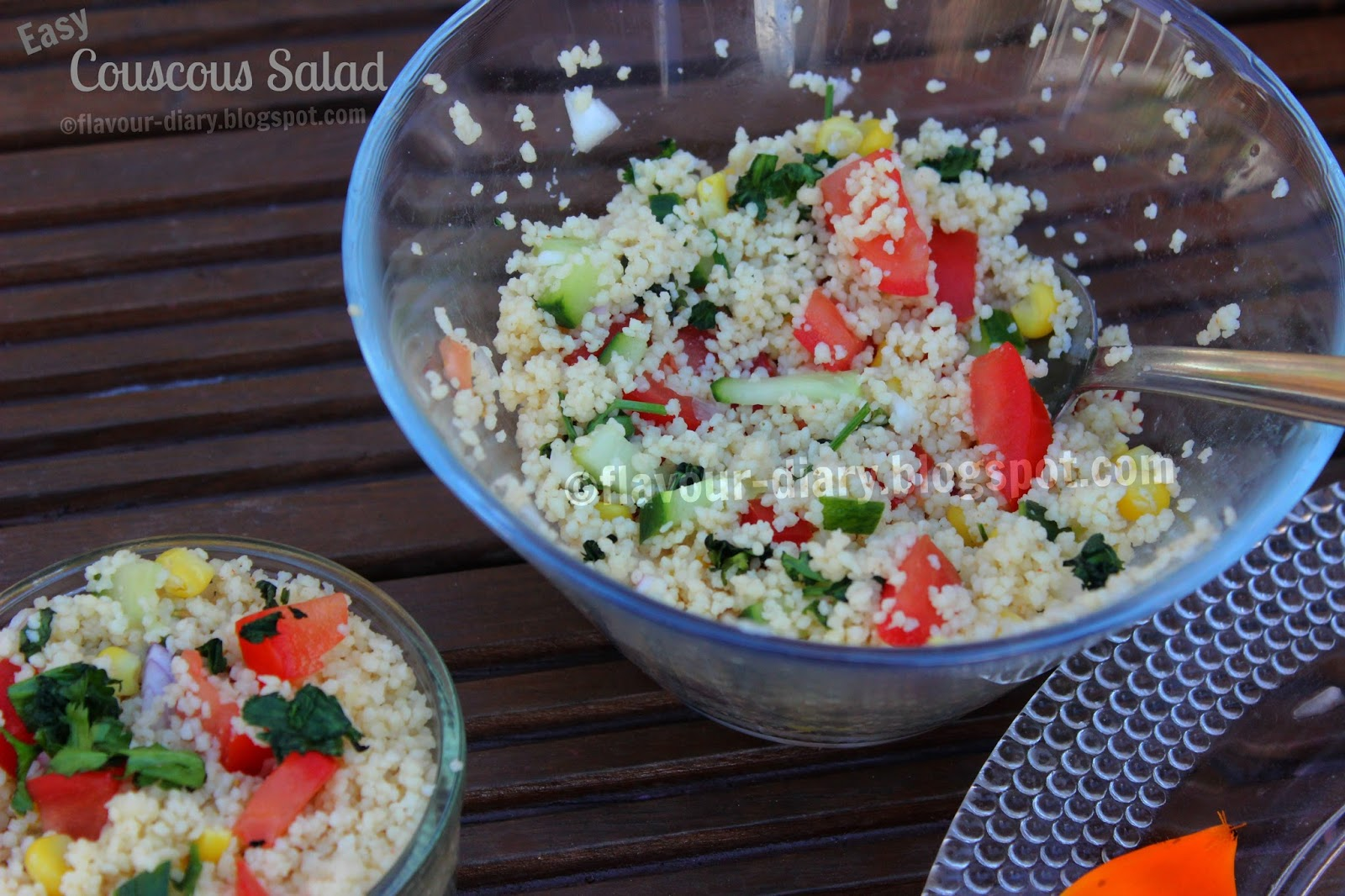 Flavour Diary Easy Couscous Salad Recipe Healthy