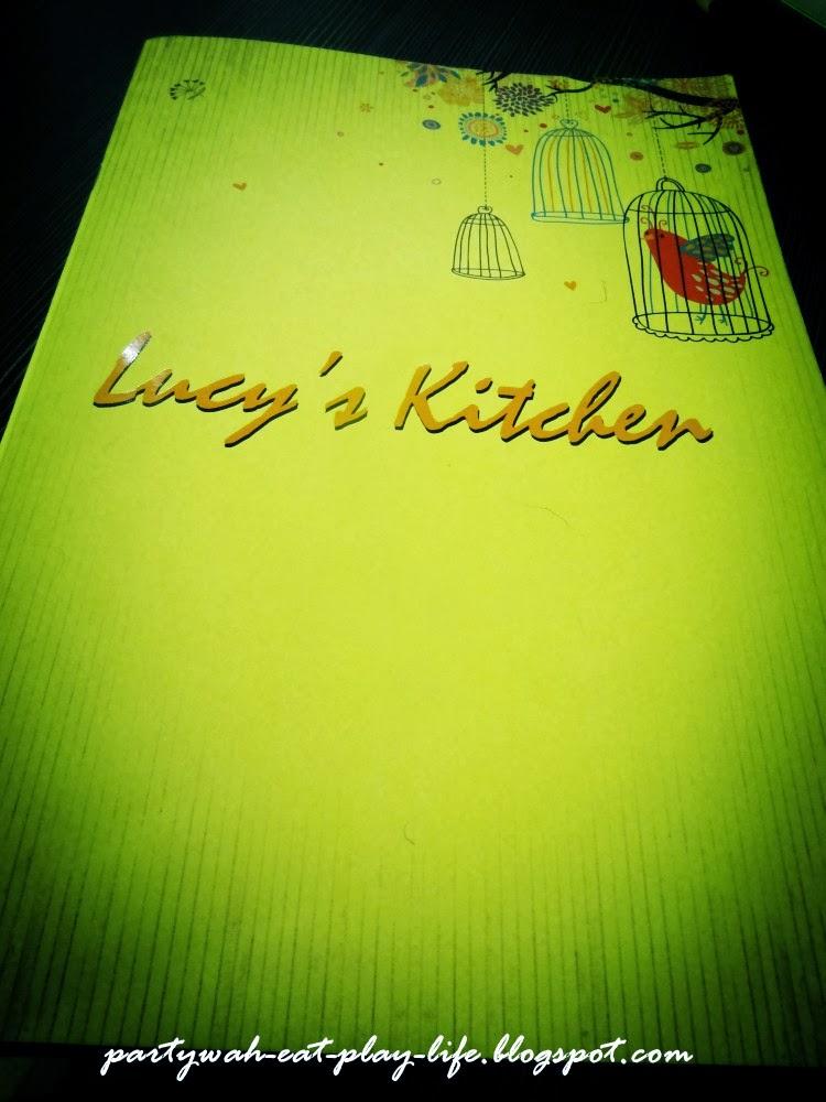 Lucy Kitchen Metrotown Menu