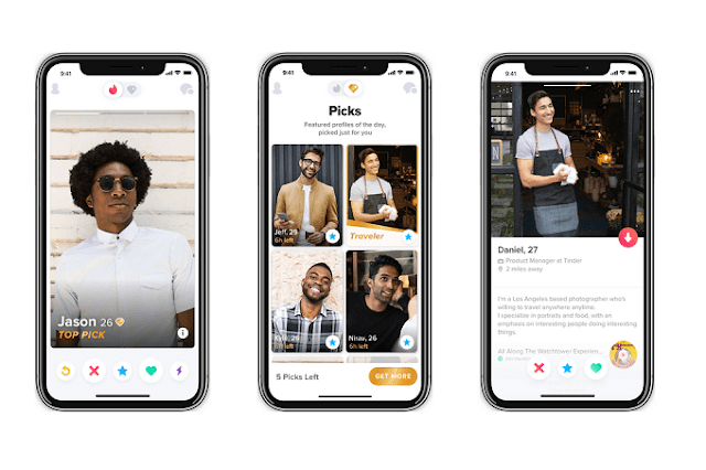 Tinder tests new Picks feature