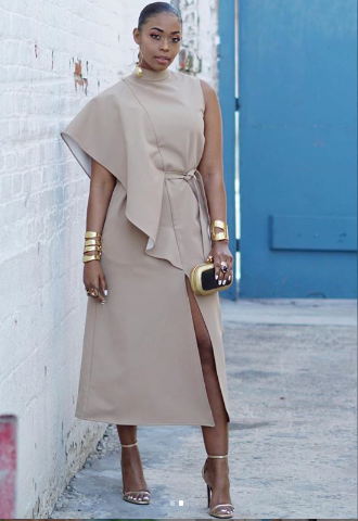 Nafessa Williams wears J.ING