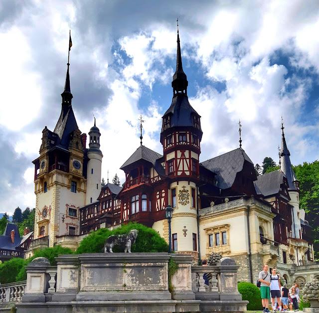 Castelo de Peles Transilvania Romenia