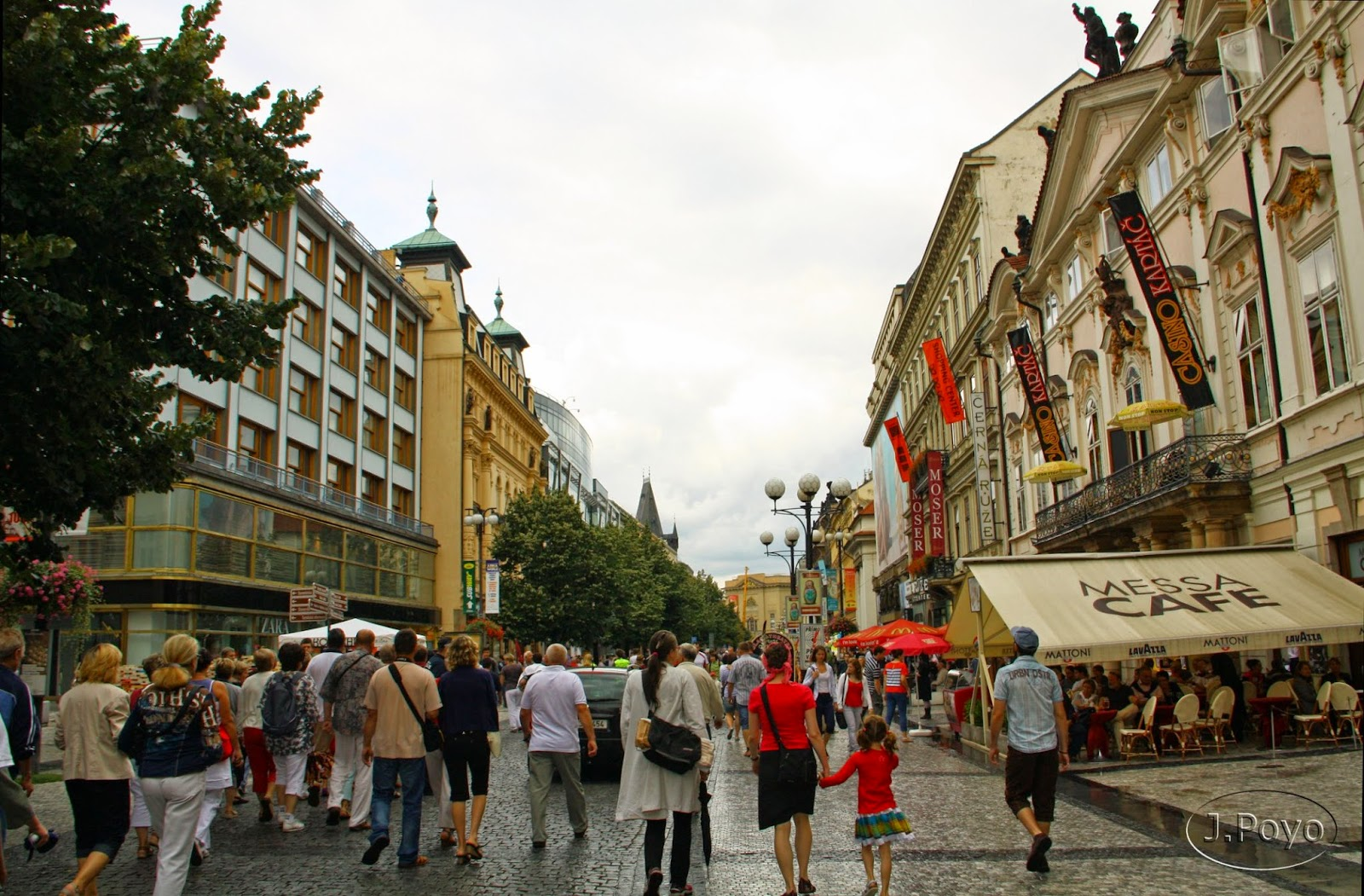 calle Na příkopě de Praga