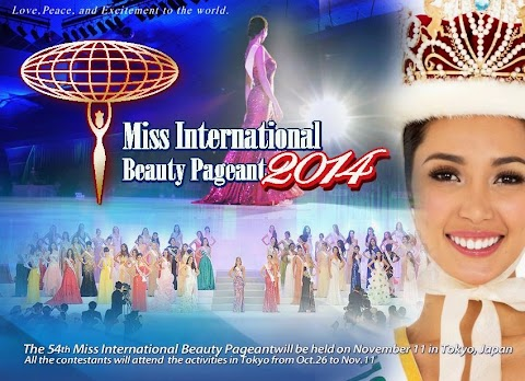 Se inicia la Cobertura de Miss International 2014