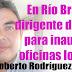 Dirigente del PES llegó a Río Bravo; invitado a inauguracion de nuevas oficinas