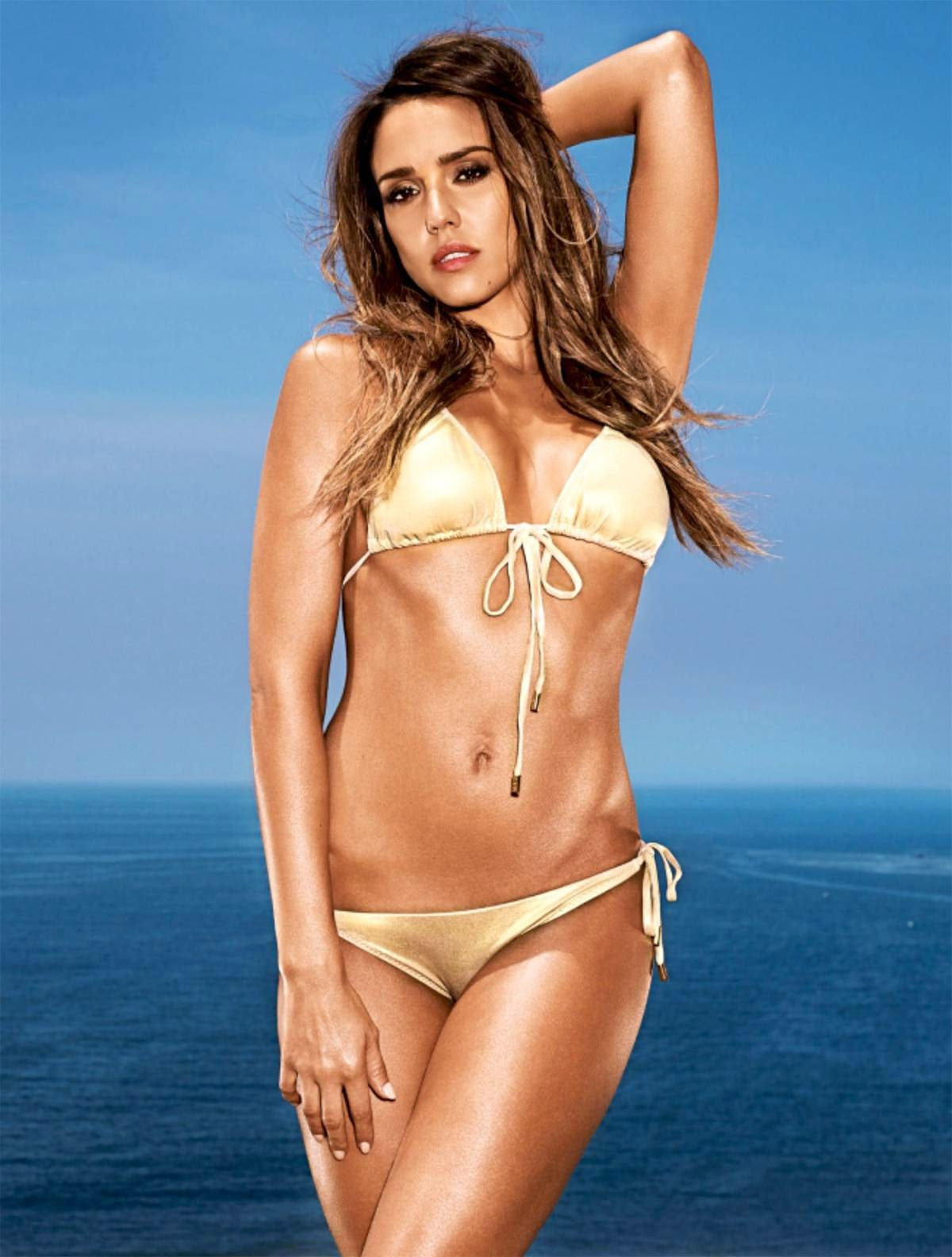 PhotoFunMasti: Jessica Alba - Hot Bikini HQ Wallpapers