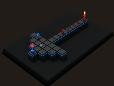 立方塔防(Cubemen),策略性極高的塔防防禦遊戲!