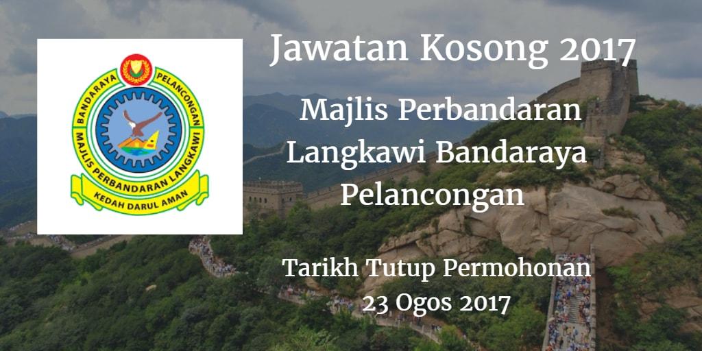 Jawatan Kosong MPLBP 23 Ogos 2017