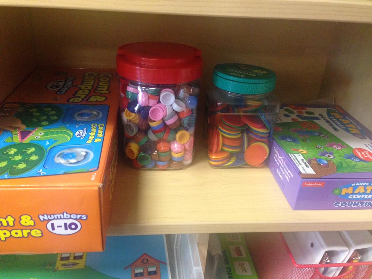 Preschool Wonders Math And Manipulatives Centers