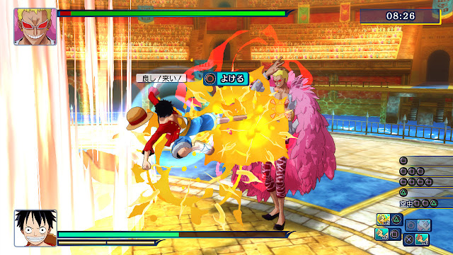 One Piece Unlimited World Red 3DS ROM Decrypted ~ Rodo-Rora
