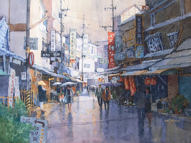 Beautiful Watercolors by Ian Ramsay