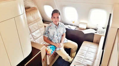 Etihad First Class Review: How a Pinoy Blogger Flew for FREE