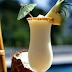Shake de abacaxi com coco