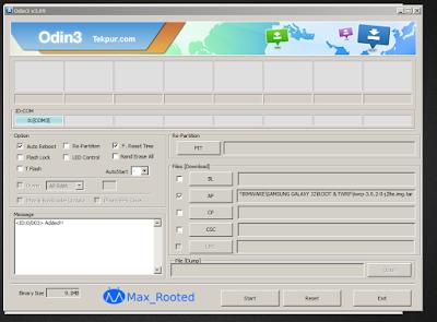 Cara Root dan Pasang TWRP Samsung J2 [SM-J200G]