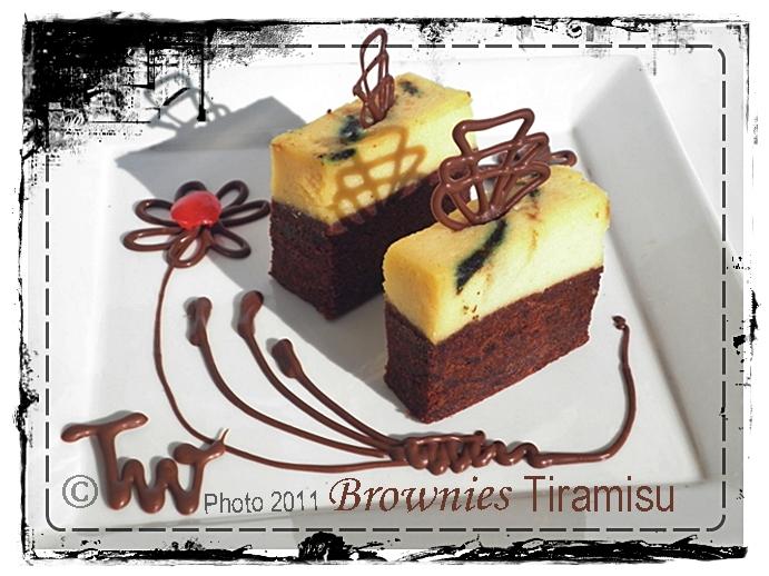 Resep Cake Tiramisu Jtt: Welcome To Teawe's Blog: Cheese Brownies Tiramisu Putih Telur