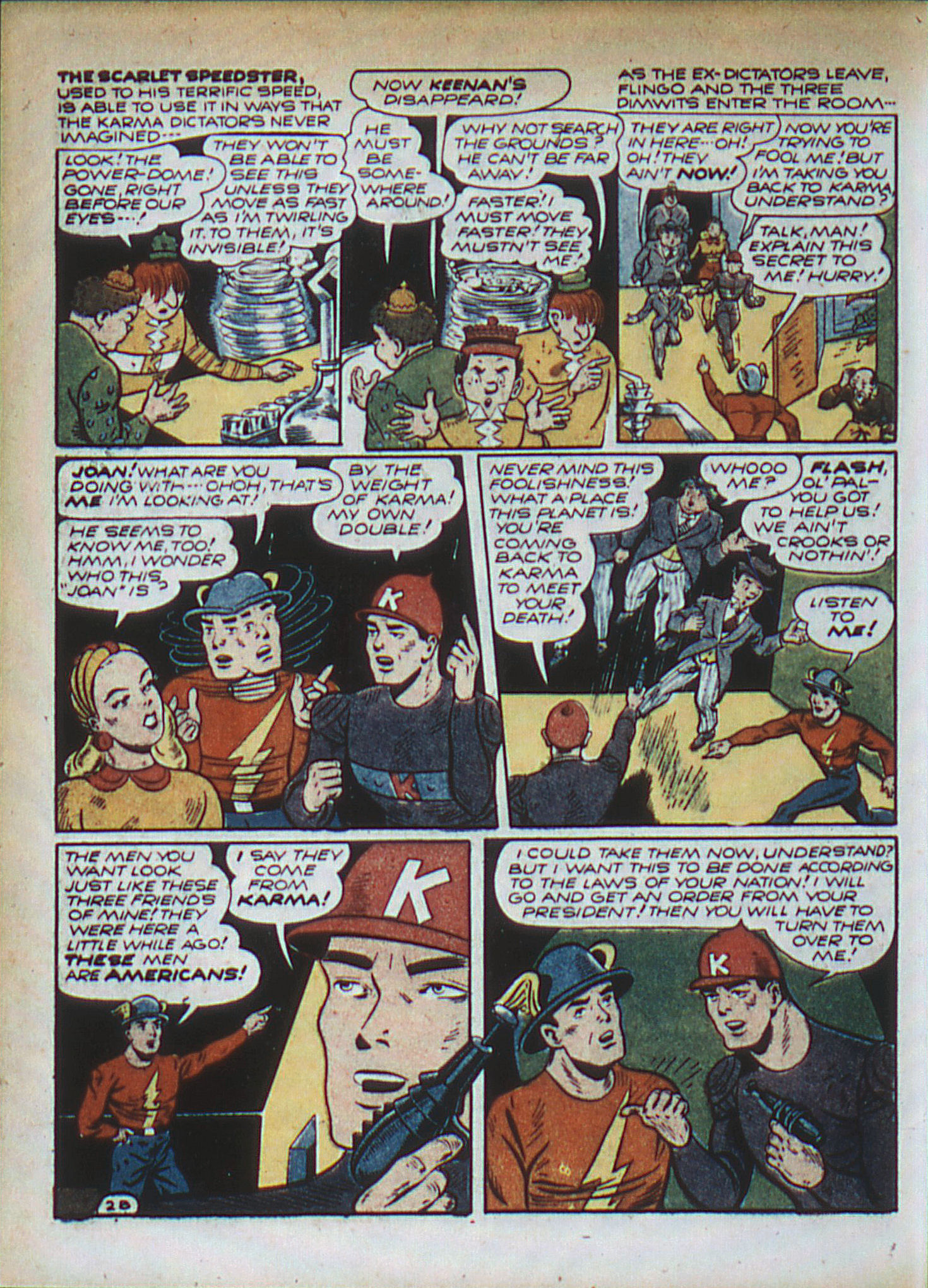 Read online All-Flash comic -  Issue #11 - 19