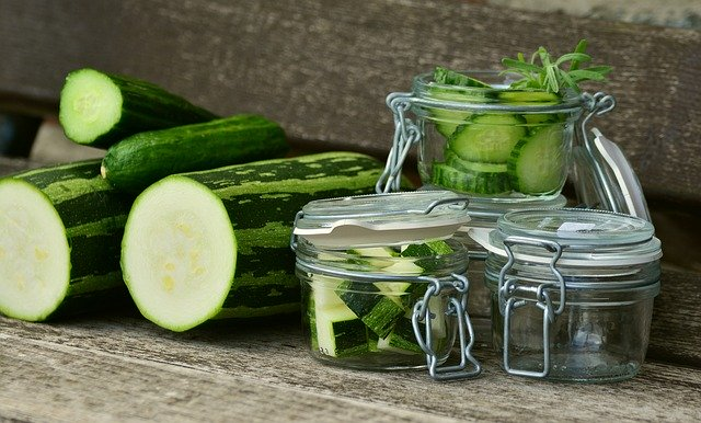 Cucumber soap and parsley