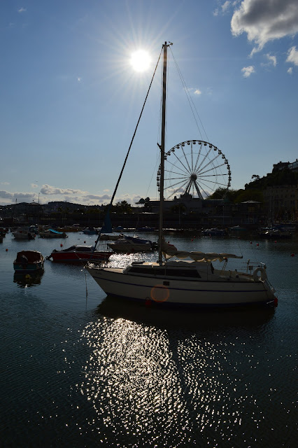 Torquay wheel at sunset