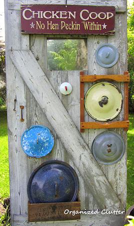 Pot Lids on Display