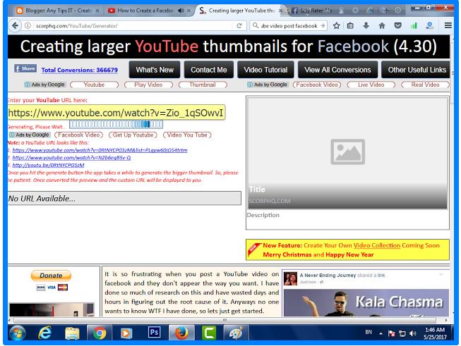 Sharing Youtube Videos On Facebook - DaftarEmail com