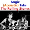 Angie Tabs (Acoustic) The Rolling Stones. How To Play Angie (Acoustic) On Guitar Easy Tabs & Sheet Online