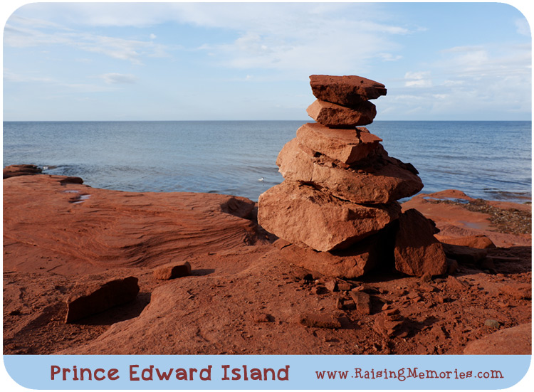 PEI Red Rocks Nature Photography