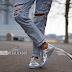 A onda dos sapatos metalizados!
