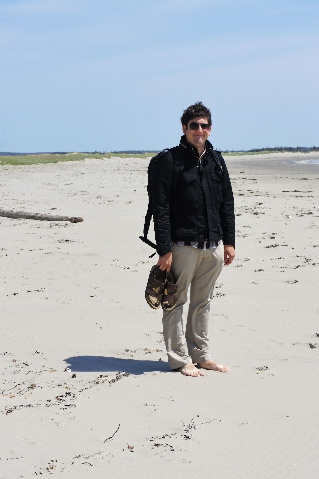 The Stroke Blog: Martinique Beach, Nova Scotia