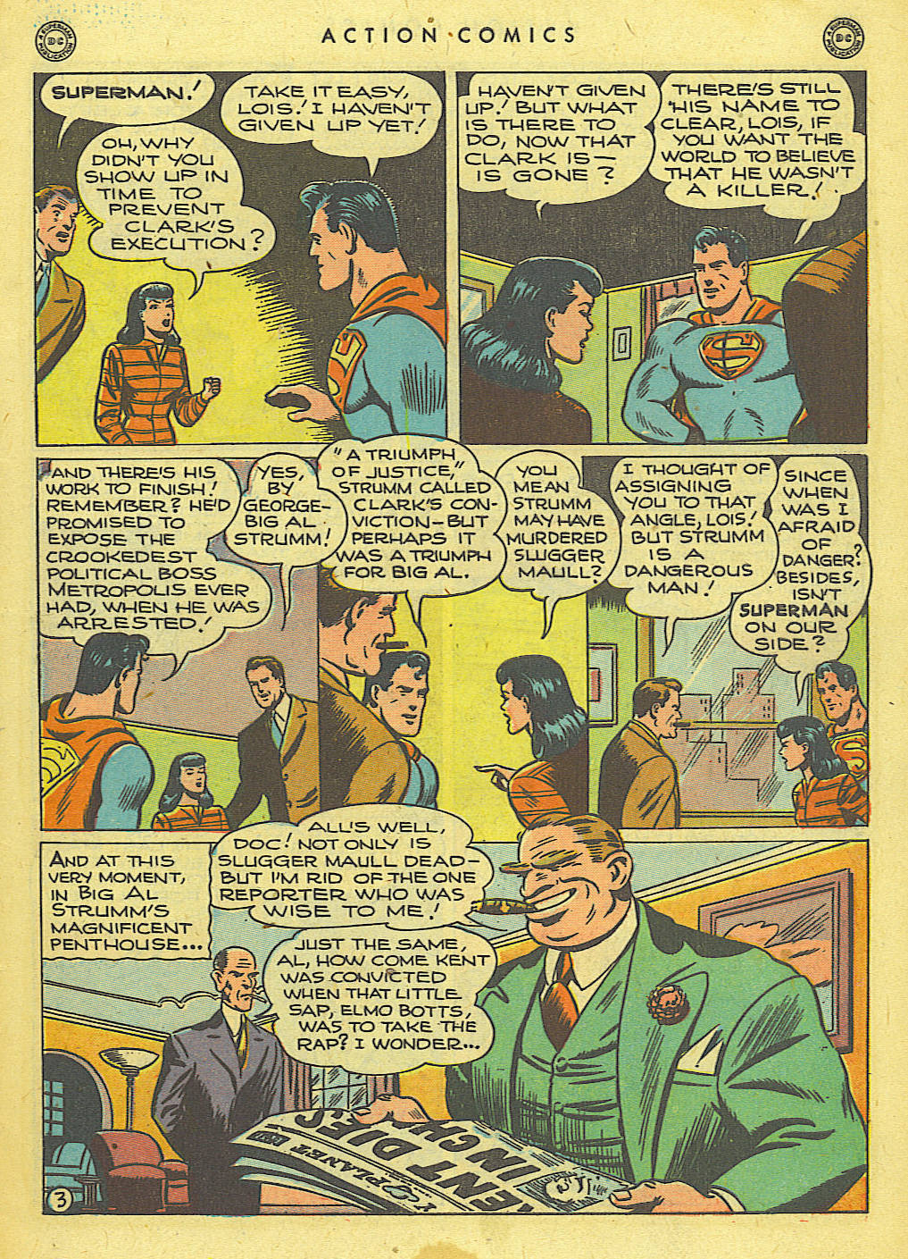Read online Action Comics (1938) comic -  Issue #118 - 4