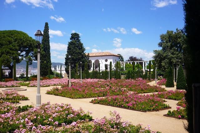Jardins del Teatre Grec em Montjuic