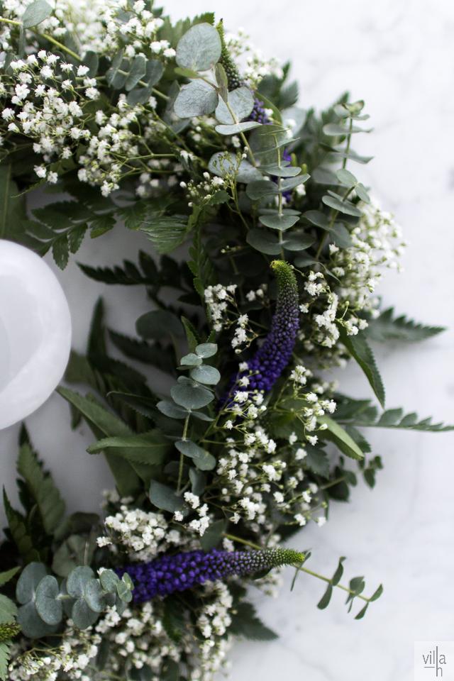 ristiäiset, flowers, kranssi, kukat
