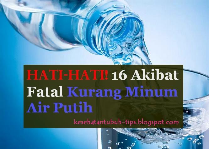 Hati-hati! 16 Akibat Fatal Kurang Minum Air Putih