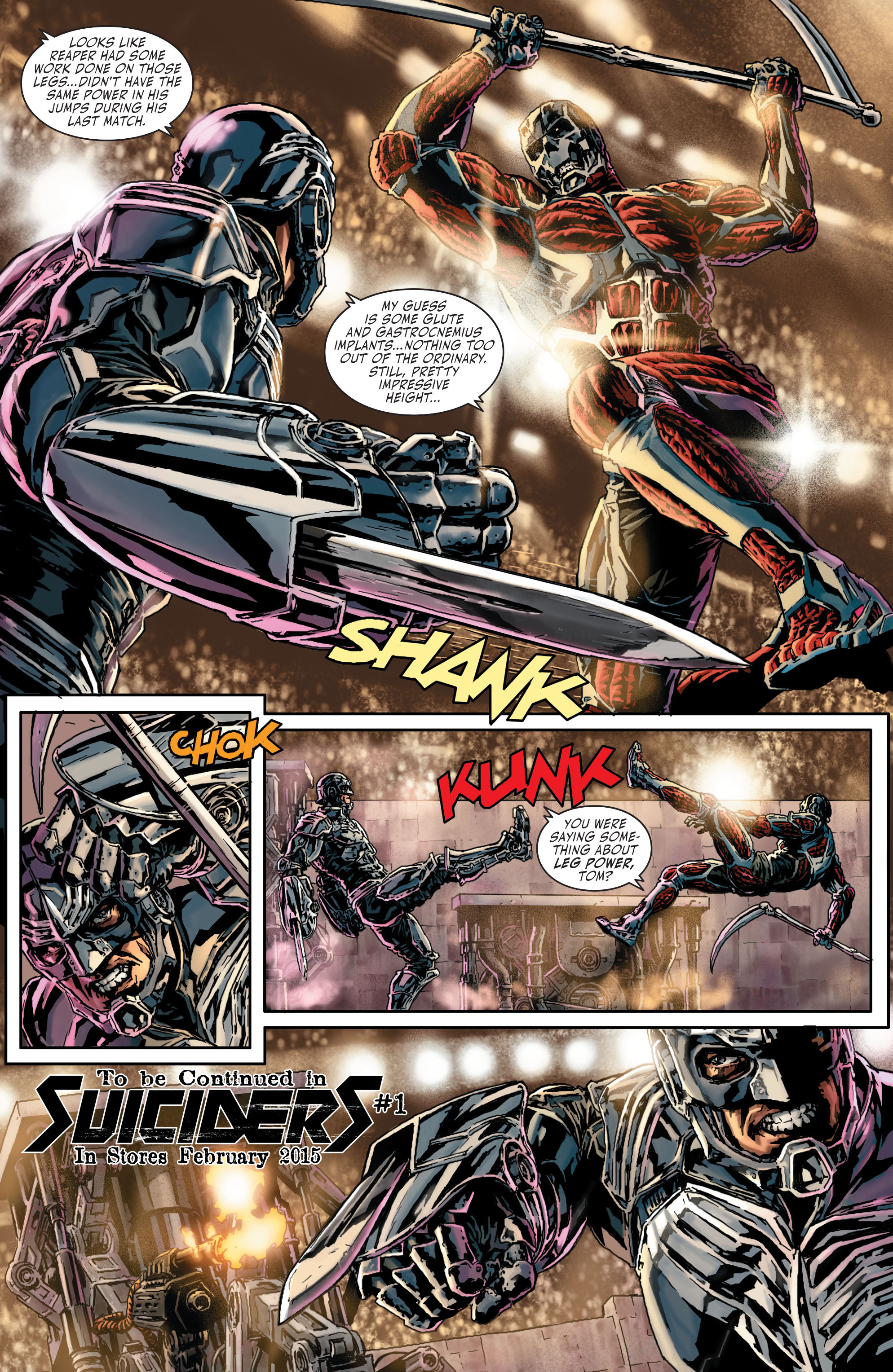 Read online Secret Six (2015) comic -  Issue #2 - 26