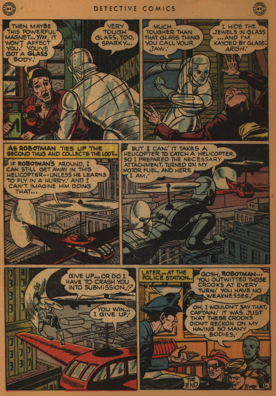 Read online Detective Comics (1937) comic -  Issue #152 - 22