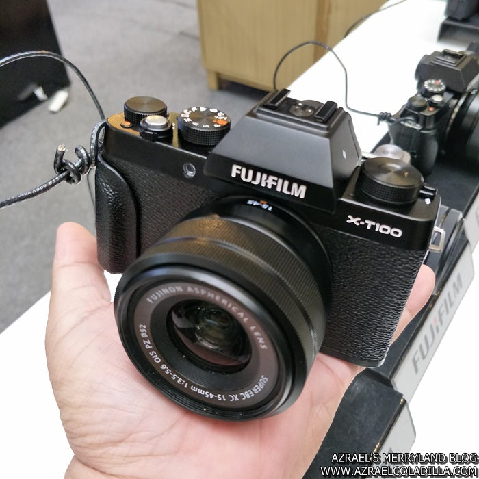 FUJIFILM X-T100 LAUNCH