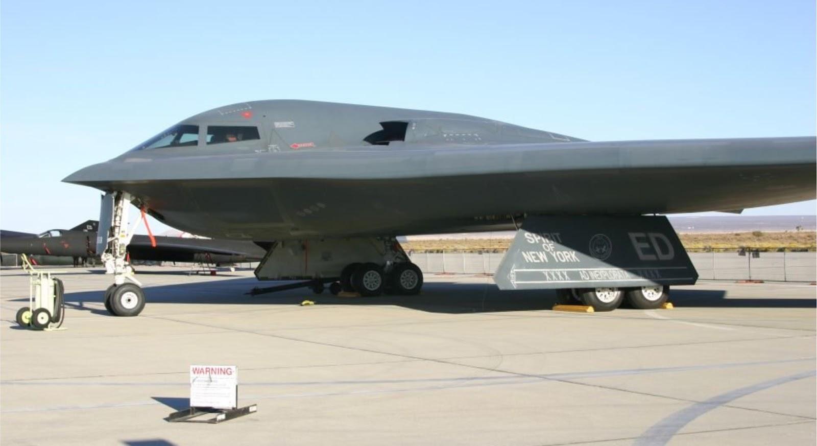 AS menempatkan pesawat pengebom B-2 lebih dekat ke China