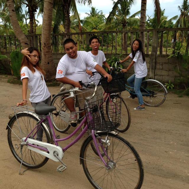 Biking in Bantayan